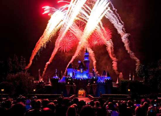 Celebrate the Fourth of July with Fireworks at the Disneyland Resort