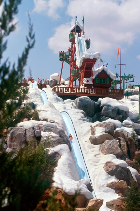 Summit Plummet At Disney S Blizzard Beach Water Park