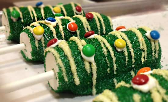 Special Holiday Sweets for 'Limited Time Magic' Christmas in July Week at the Disneyland Resort, Featuring a Treat that Looks Like a Sparkly Christmas Tree