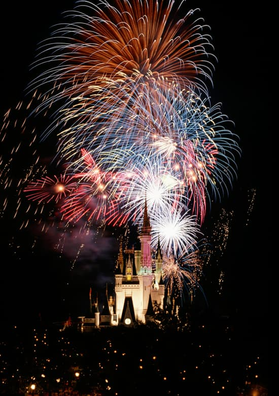 Celebrate the Fourth of July with Fireworks at the Walt Disney World Resort