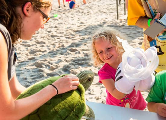 Guests at Disney's Vero Beach Resort Learn About the Monstrous Challenges that Sea Turtles Face