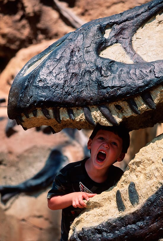 A Roaring Good Time in Dinoland, U.S.A.