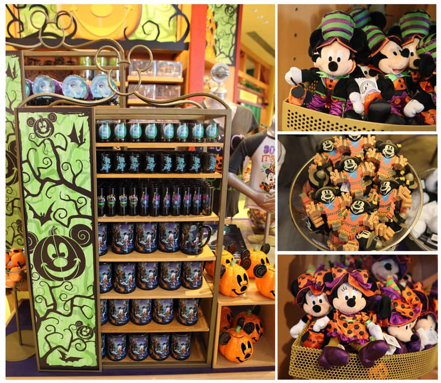 popular halloween merchandise returns to locations at disney parks