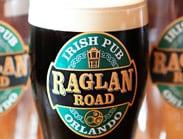 Guinness Pint at Raglan Road at Downtown Disney