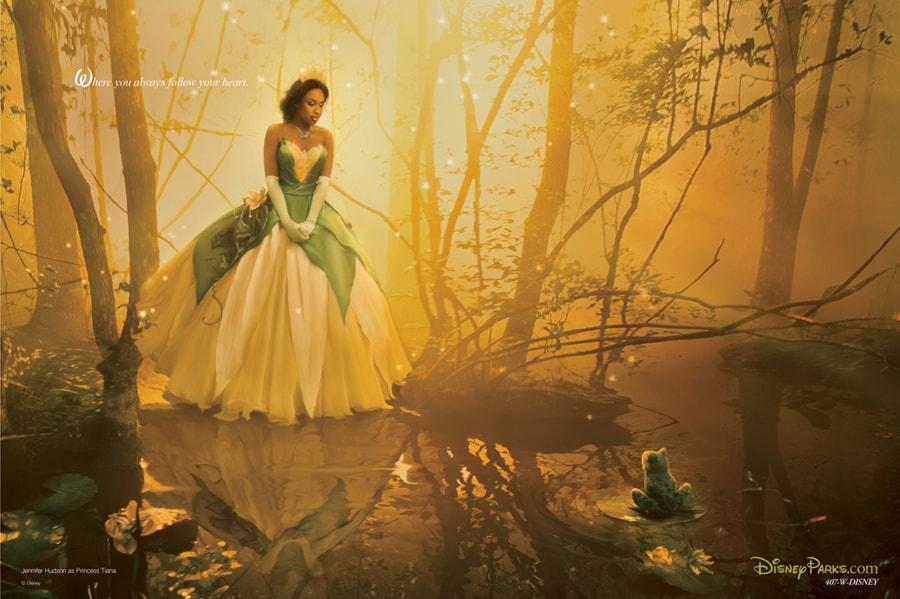 Exclusive First Look: New Annie Leibovitz Disney Dream Portrait Featuring Jennifer Hudson as Tiana