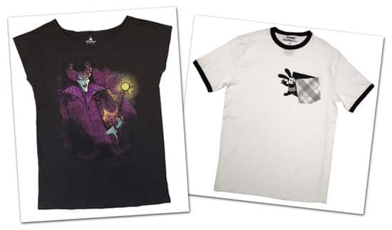 Villainous Tees and Pockets of Disney Character Coming to Disney Parks This Fall, Including Maleficent and Oswald the Lucky Rabbit