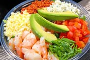 Shrimp Cobb Salad at Harbour Galley in Disneyland Park