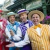 """The Dapper Dans performed boy band hits as part of """"Limited Time Magic."""""""