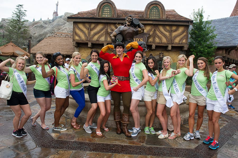 Miss America Contestants Take Center Stage at Walt Disney
