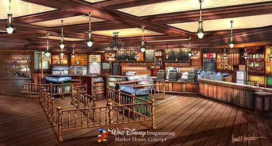 Blue Sky Cellar at Disney California Adventure Park Gives a Peek Inside Market House and Aulani Expansions