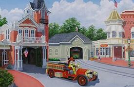 Disney Artwork by Larry Dotson