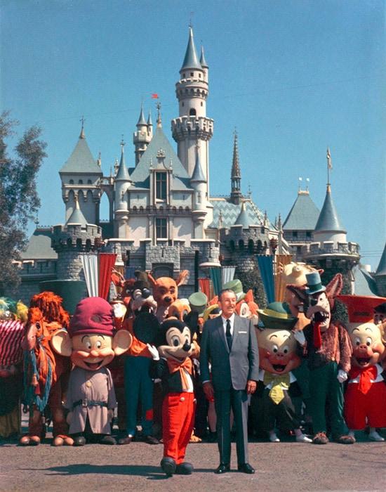 Walt Disney at Disneyland Park