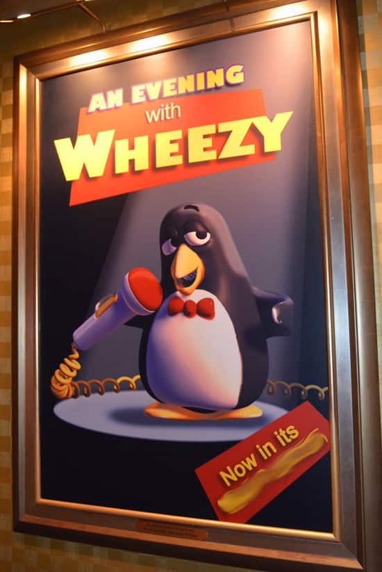Finish that Disney Parks Sign: Wheezy's Performance at Mickey's PhilharMagic