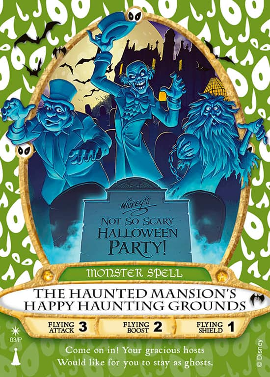 Hitchhiking Ghost Sorcerers of the Magic Kingdom Card Debuts at Mickey's Not-So-Scary Halloween Party