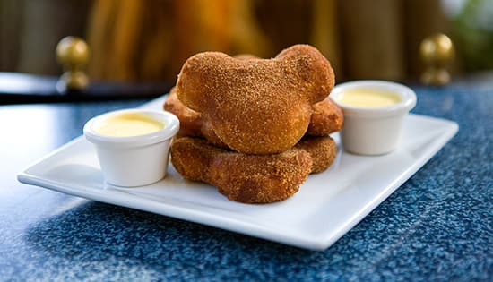 Treats, Not Tricks, for Friday the 13th 'Limited Time Magic': Pumpkin Beignets with Vanilla Crème Anglaise