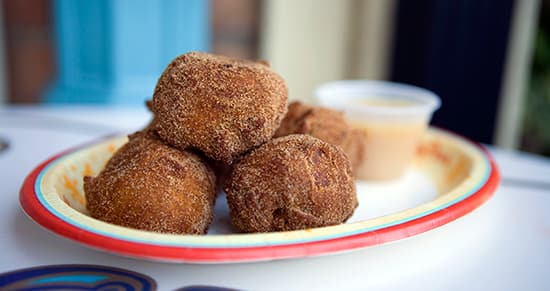 Treats, Not Tricks, for Friday the 13th 'Limited Time Magic': Pumpkin Fritters