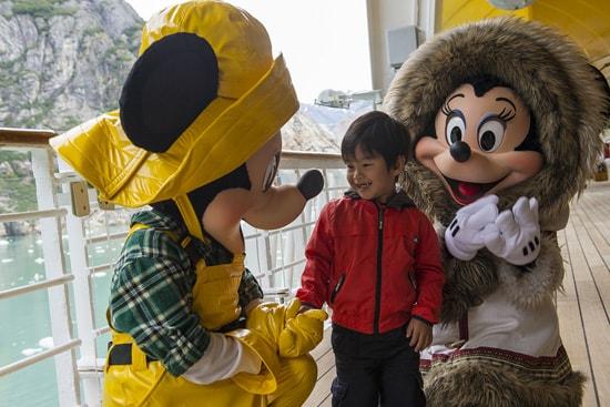 Fun with Disney Friends on a Disney Cruise to Alaska