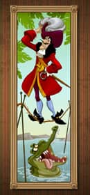 Captain Hook Takes on a Famous Role in The Haunted Mansion