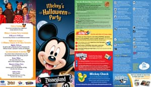 Mickey's Not-So-Scary Halloween Party Park Map for September 24, 2013
