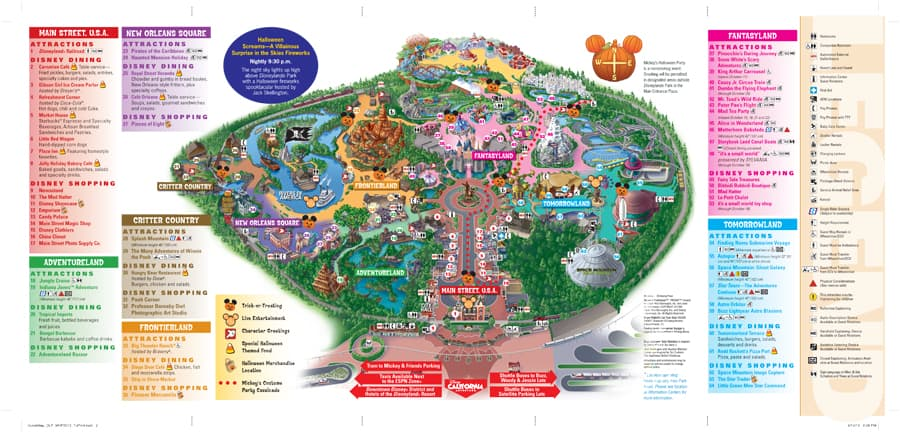 photograph regarding Printable Disneyland Maps titled A Exceptional Trick-or-Deal with Expertise Simply just For By yourself at Walt