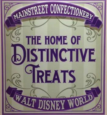 Finish that Disney Parks Sign: Sweet Treats on Main Street, U.S.A.