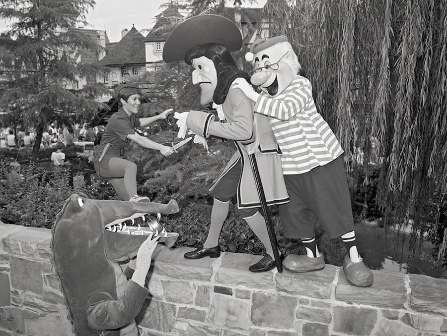 Vintage Walt Disney World Celebrating Talk Like A Pirate Day With