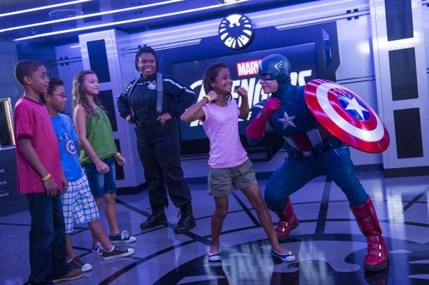 Avenger's Academy, Aboard the Disney Magic Cruise Ship