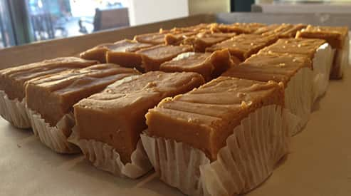 Pumpkin Fudge at Disneyland Resort