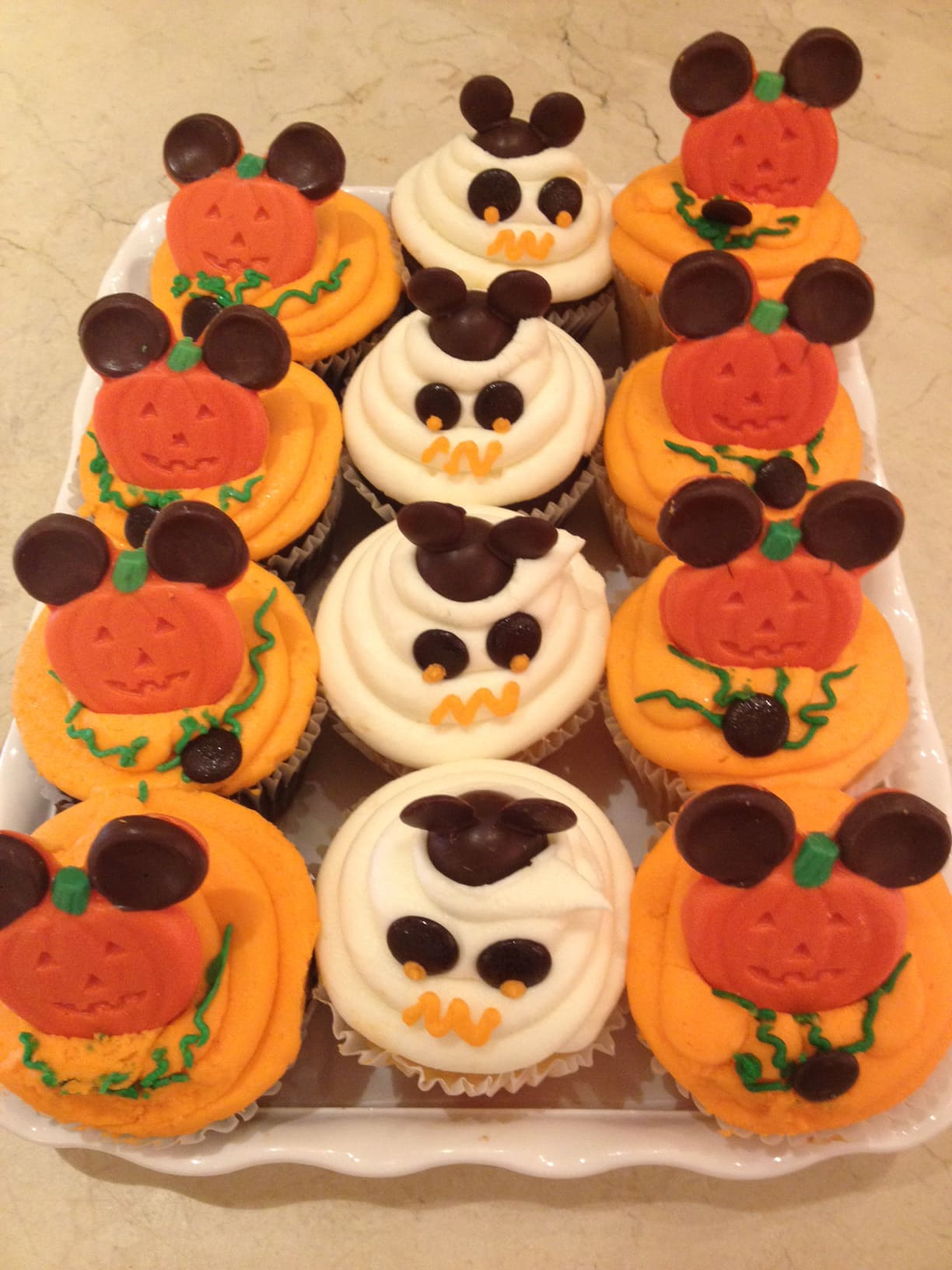 Halloween Cupcake at Disneyland Resort