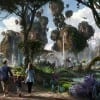 Artist Rendering of AVATAR-Themed Land During the Day, Coming to Disney's Animal Kingdom at Walt Disney World Resort