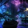 Artist Rendering of AVATAR-Themed Land at Night, Coming to Disney's Animal Kingdom at Walt Disney World Resort