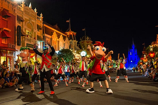 Watch Phineas & Ferb Lead the Creepa Crew at Mickey's Not-So-Scary Halloween Party