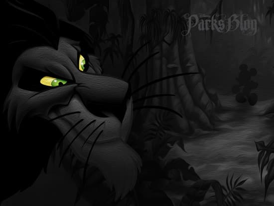 Disney Villains Wallpaper Series Scar From The Lion King Disney Parks Blog