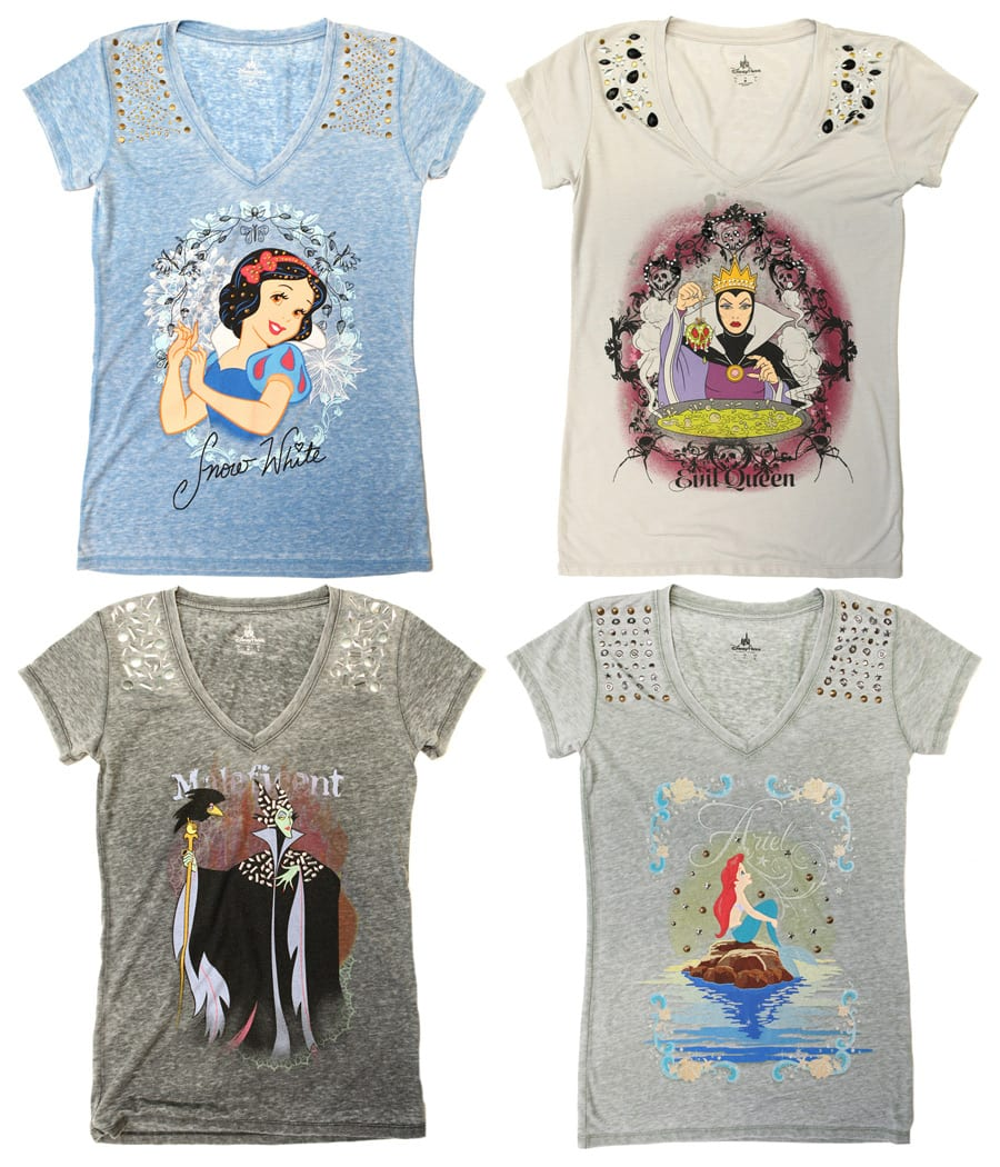 152cbf05 ... Disney Princesses and Villains T-Shirts Coming Soon to Disney Parks