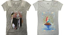 Disney Princesses and Villains T-Shirts Coming Soon to Disney Parks