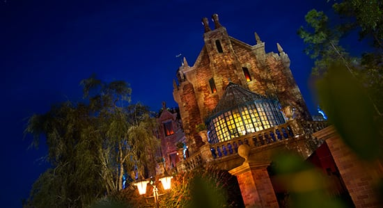 Disney Parks Attractions Around the World: Haunted Mansion