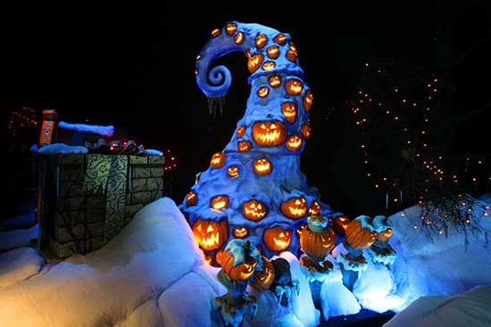 celebrate a scary christmas with jack skellington at haunted mansion holiday