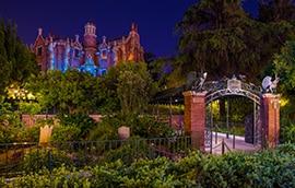 The Haunted Mansion at Tokyo Disneyland