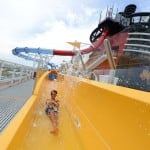 AquaDunk Water Slide on the Disney Magic
