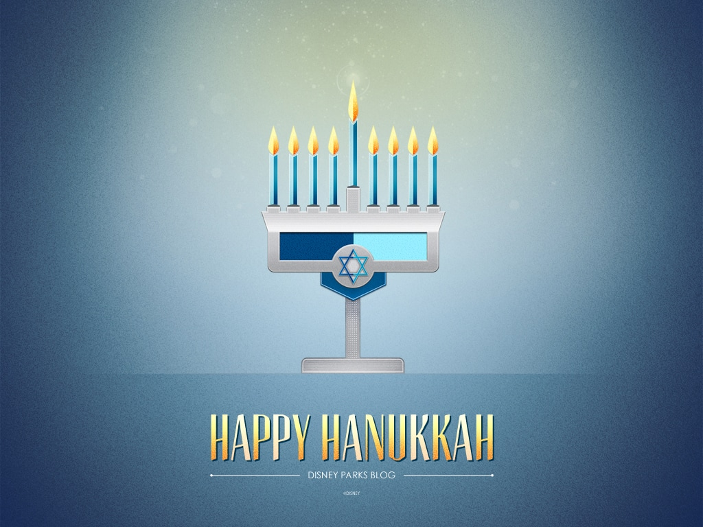 Disney Parks Blog Hanukkah Wallpaper