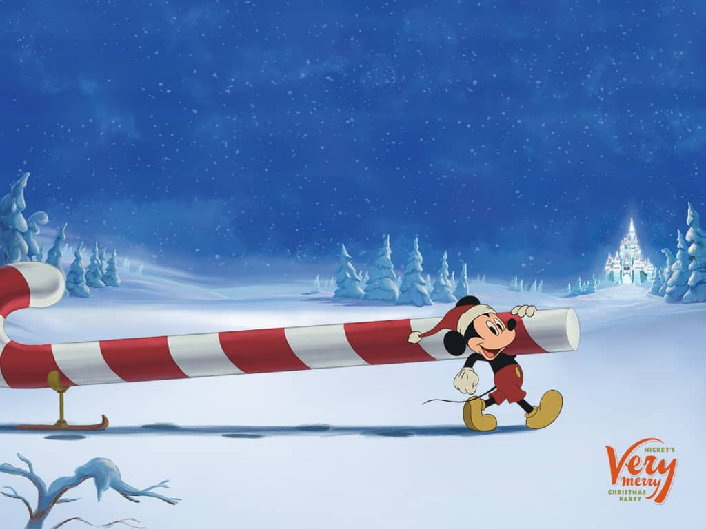 Disney Parks Blog Mickey's Very Merry Christmas Party-Mickey Wallpaper