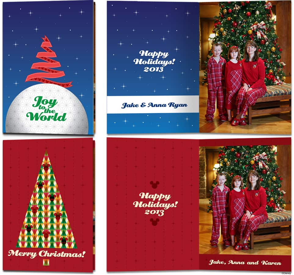 Disney Christmas Cards.Create Memories With Exclusive Disney Christmas Cards