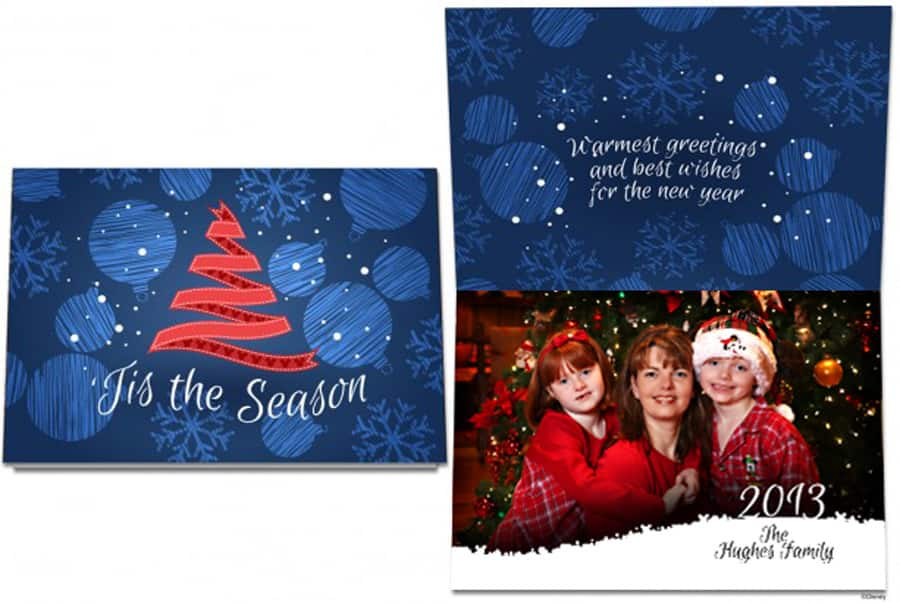Create Memories With Exclusive Disney Christmas Cards | Disney Parks ...
