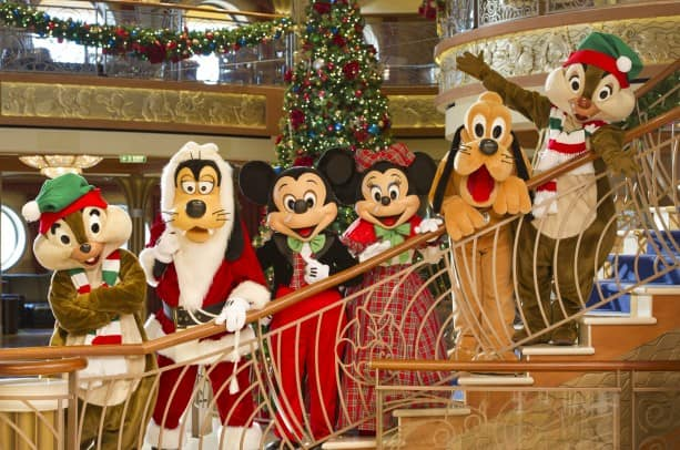 Winter Holidays Aboard Disney Cruise Line
