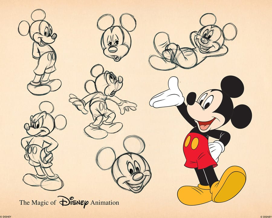 "2c40dcd3f4eb6 New ""Fab 5"" Ink   Paint Cels To Debut at Disneyland Park"
