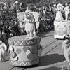 Christmas Parade at Magic Kingdom Park in 1977