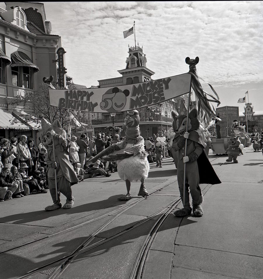 Step In Time: 'Mickey's Birthday Parade' Marks 50 Years For the Mouse at Magic Kingdom Park