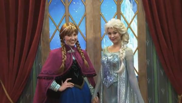 Frozen meet greet debuts at epcot disney parks blog walt disney world resort more walt disney world resort stories m4hsunfo