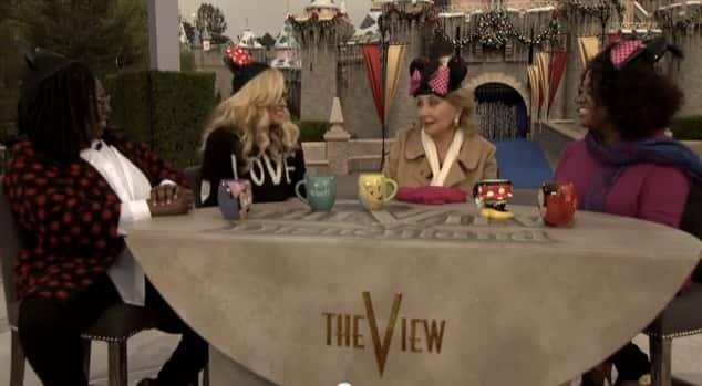 ABC's 'The View' Visits the Disneyland Resort