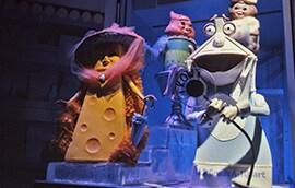 Vintage Walt Disney World Scenes From Kitchen Kabaret and Food Rocks at the Land Pavilion in Epcot